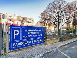 Špotzova - parkoviště, parkovací plocha, parkování